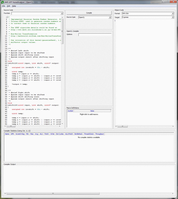 APP Kernel Analyzer - GPUOpen