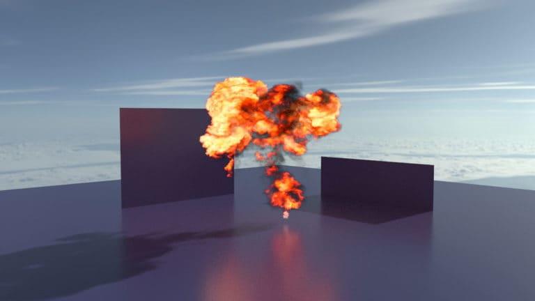 Radeon ProRender Explosion