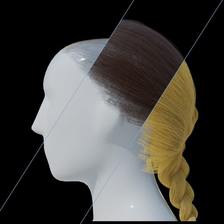 Radeon ProRender Hairstyles