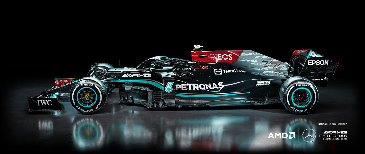 Formula 1 Radeon ProRender